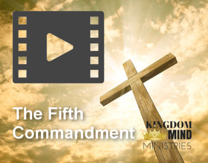 The Fifth Commandment - Honor