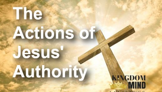 The Actions of Jesus' Authority